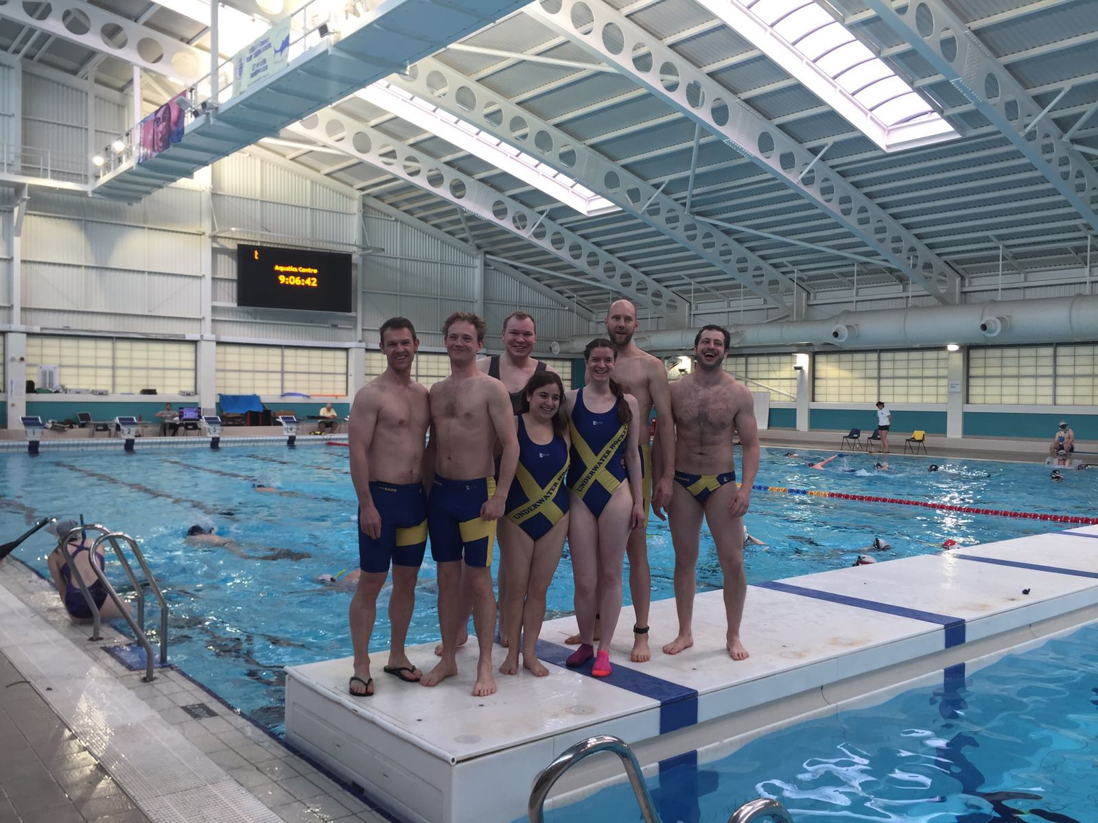 St Albans Underwater Hockey Team at the Nationals